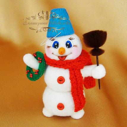Как сделать из бумаги глаза для снеговика